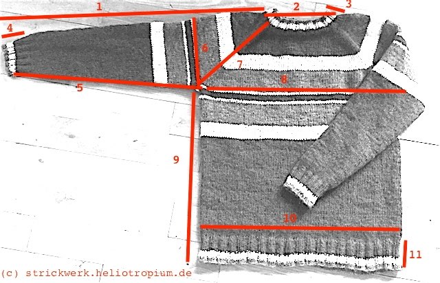 pullover-liegend-masse