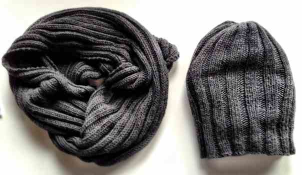Snood Mütze Schal Beanie Loop