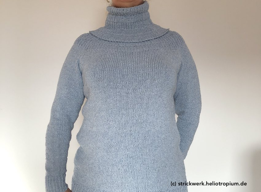 Cowl mit Anker's Pullover