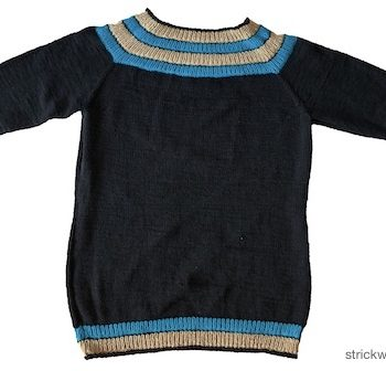 Anker's Sweater liegend
