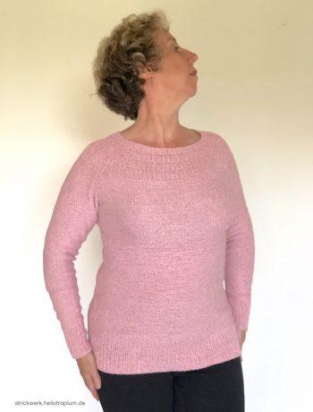 Anker's Sweater aus Seidenmischgarn