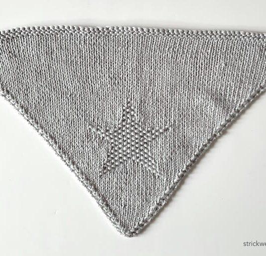 Dreieckstuch Stern